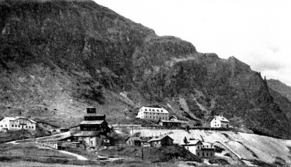 Bergbauanlagen Nassfeld