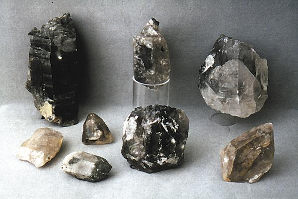 Bergkristallfunde Magdalensberg