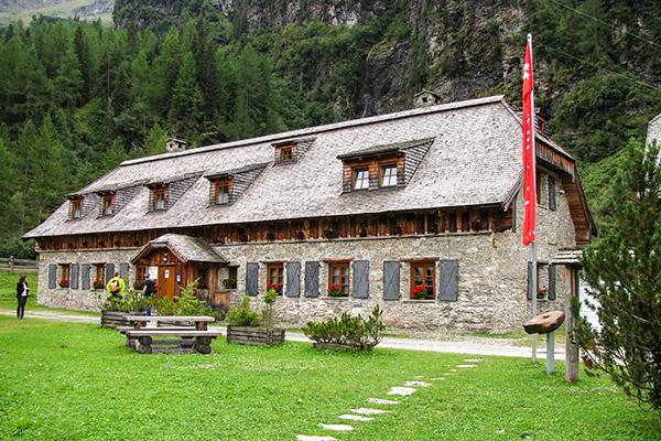 Zimmererhütte Talmuseum Rauris